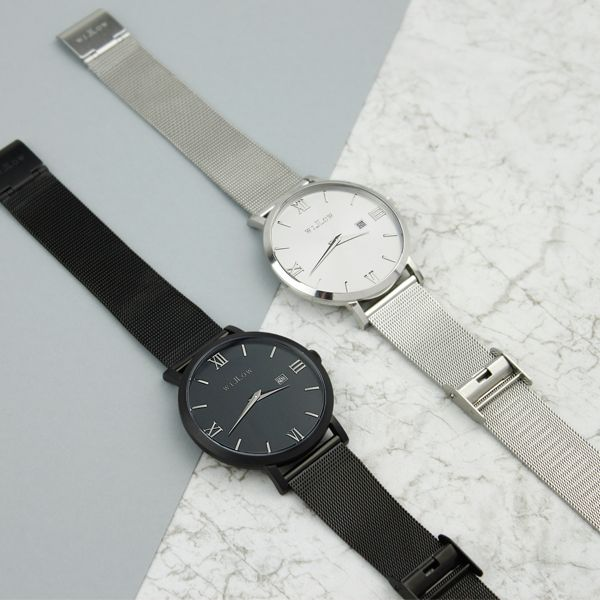 Our two mesh watch favourites!