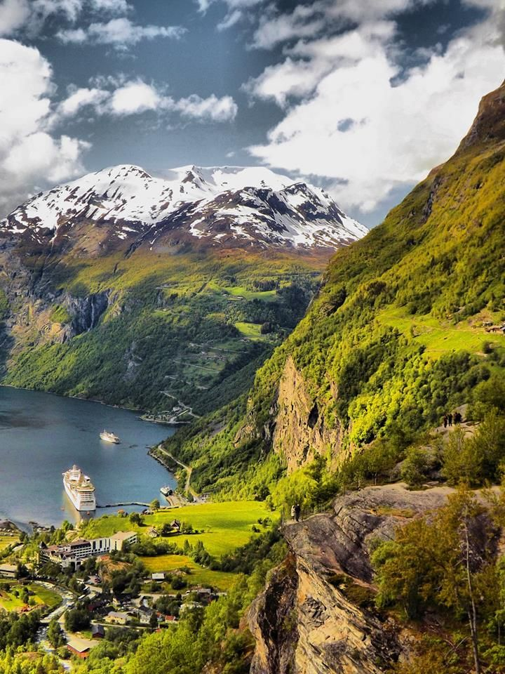 Norway - Inspiration for the mountain ranges in Nandala in To Seduce an Assassin by Jayla Jasso