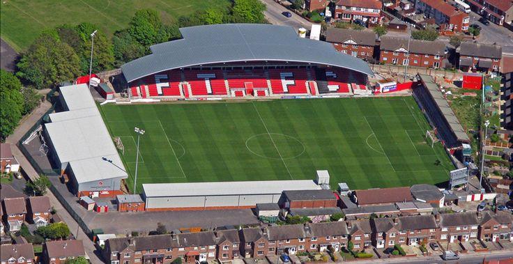 Highbury Stadium - Aerial - Fleetwood Town FC