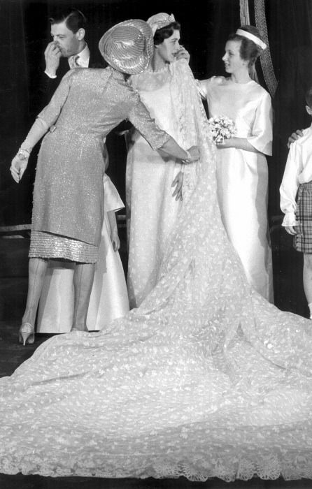 Princess Alexandra of Kent's wedding with Princess Anne