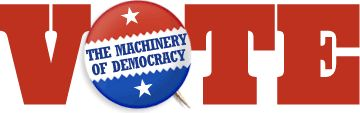 """""""Vote: The Machinery of Democracy,"""" an Interactive exhibition from the Smithsonian looks at the history of voting methods in the U.S., which are as varied as the individual states and their local election districts."""