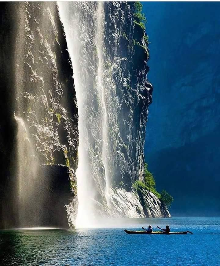 Ålesund waterfall, #Norway