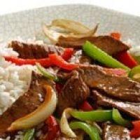 Pepper Steak Stir Fry Recipe