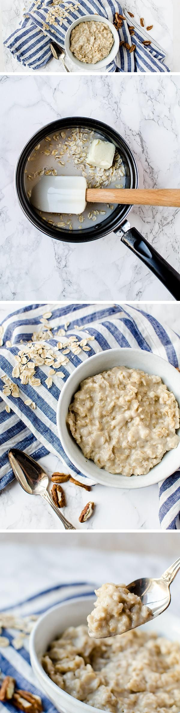 How to Make Oatmeal! A quick and easy recipe for making delicious OATMEAL every time!