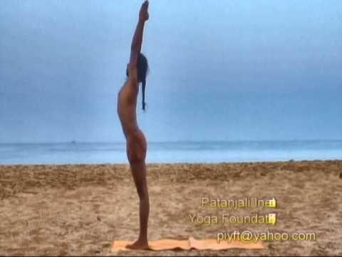 ▶ Surya Namskar , The Sun Salutation, Yoga Teacher Training in Rishikesh, Yoga Therapy Training - YouTube