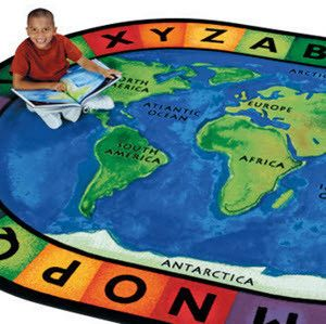Classroom rugs can help keep kids organized while learning and brighten up any school room, playroom, or child friendly waiting area. Consider a world map rug or alphabet rug for your classroom carpet this year from SensoryEdge.
