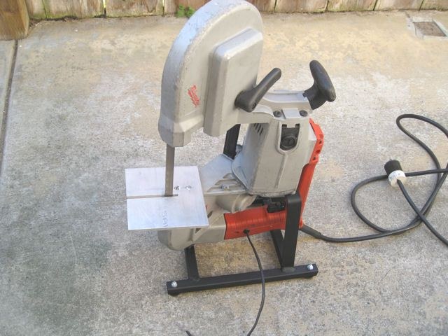Portable Bandsaw Stand Bandsaw Metal Working Projects Metal Working