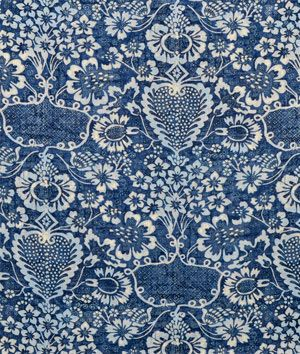 Ralph Lauren La Garoupe Indigo Fabric Ok so beautiful but out of my price range  $169.4 | onlinefabricstore.net