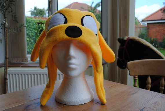 Adventure Time  Jake the Dog inspired Hat by characterhats on Etsy, £12.50