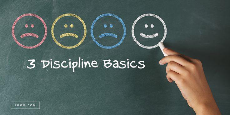 Positive discipline focuses on our children's good behavior. Our 3 discipline basics are a great foundation for your positive discipline plan.