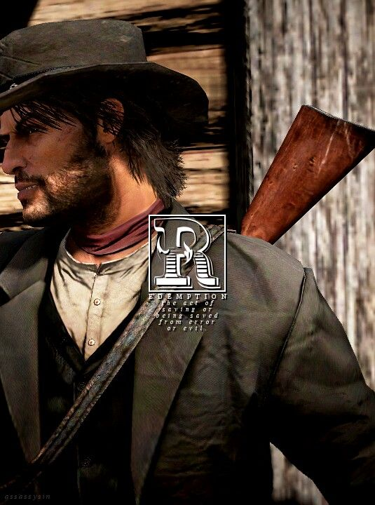 Red Dead Redemption - Is it weird that I've always been slightly attracted to Marston?