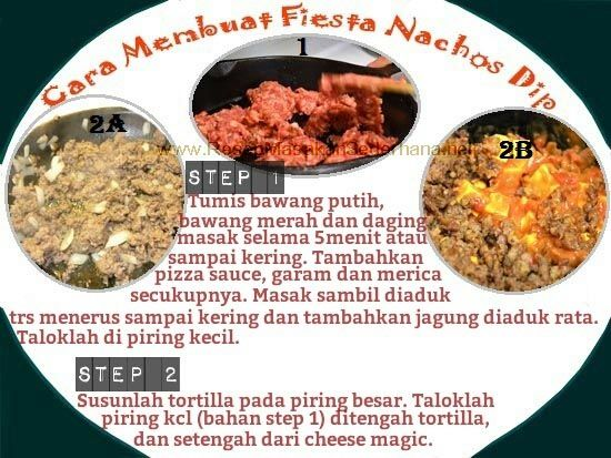 Resep Masakan Sederhana - Fiesta Nachos Dip  Video Cara Masak : https://www.youtube.com/watch?v=dG0lP8e0gRM  NB : website (http://ResepMasakanSederhana.net/) kami dalam proses pembuatan  #resep#masakan#sederhana#makanan#meksiko#tortilla#sauce#enak#mexicofood#daging#tomat#salsa#cheese#keju#salt#pepper
