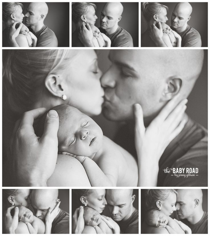 Roseburg Oregon On Location Newborn Photographer Parents with Newborn