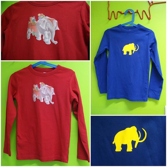 Leuke olifant sjabloon