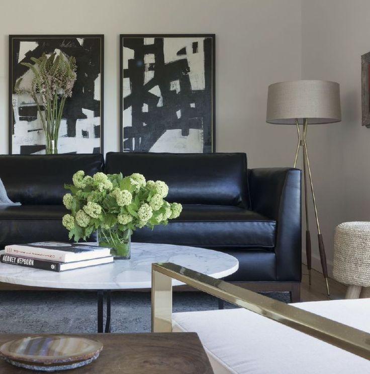 Blye Faust's Glamorous Living Room | Rue
