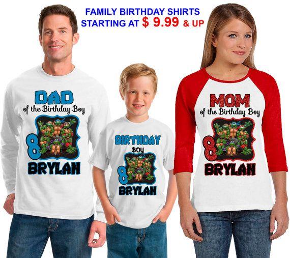 25% OFF Teenage Mutant Ninja Turtles Birthday by sweetlittletees