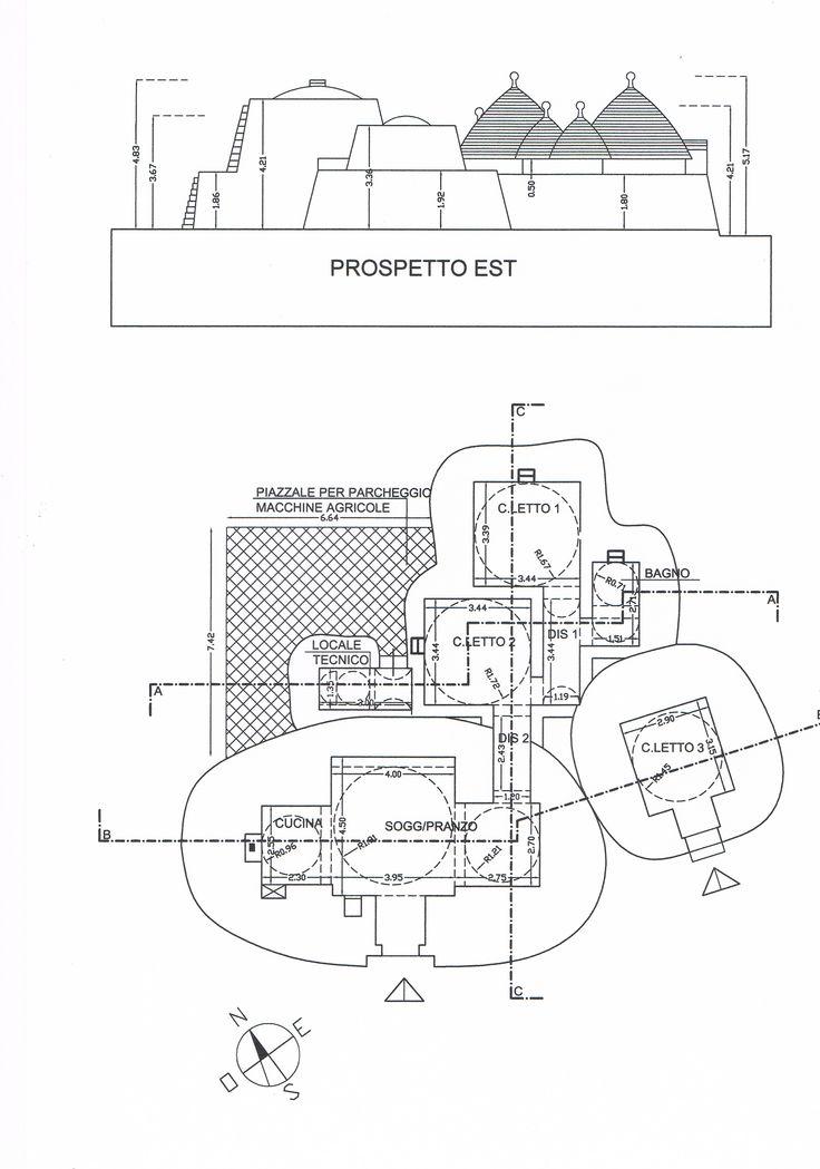 PROJECT OF ROBERTO BIANCO ARCHITECT - Progetto ampliamento studio di Architettura Arch Roberto Bianco