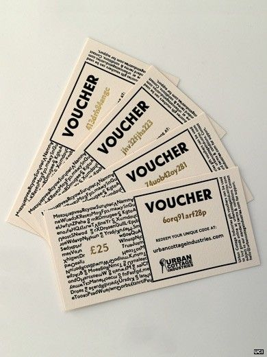 I like this as a voucher template