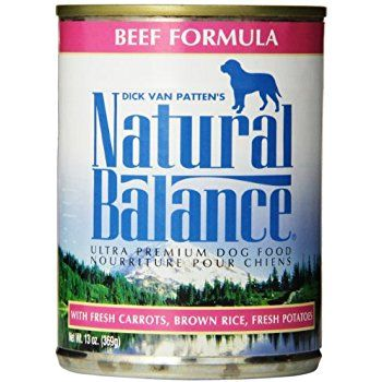 Natural Balance Ultra Premium Beef Canned Dog Formula, Case of 12 Cans/13 Oz :http://petplaybale.com/wet-dog-food-guide.html