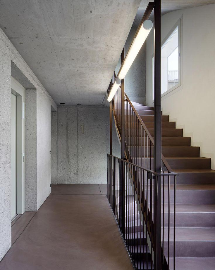 Die Genossenschaftliche Wohnüberbauung Wurde Als Mehrfamilienhaus Mit 22  Grosszügigen Und Hellen Wohnungen Erstellt. Es Wurden