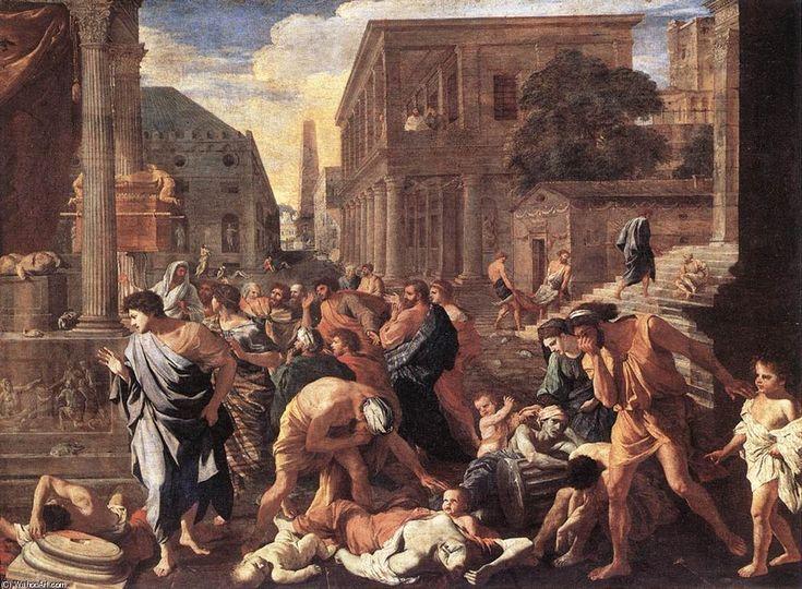 Nicolas Poussin - La Peste d'Asdod, 1630-1631