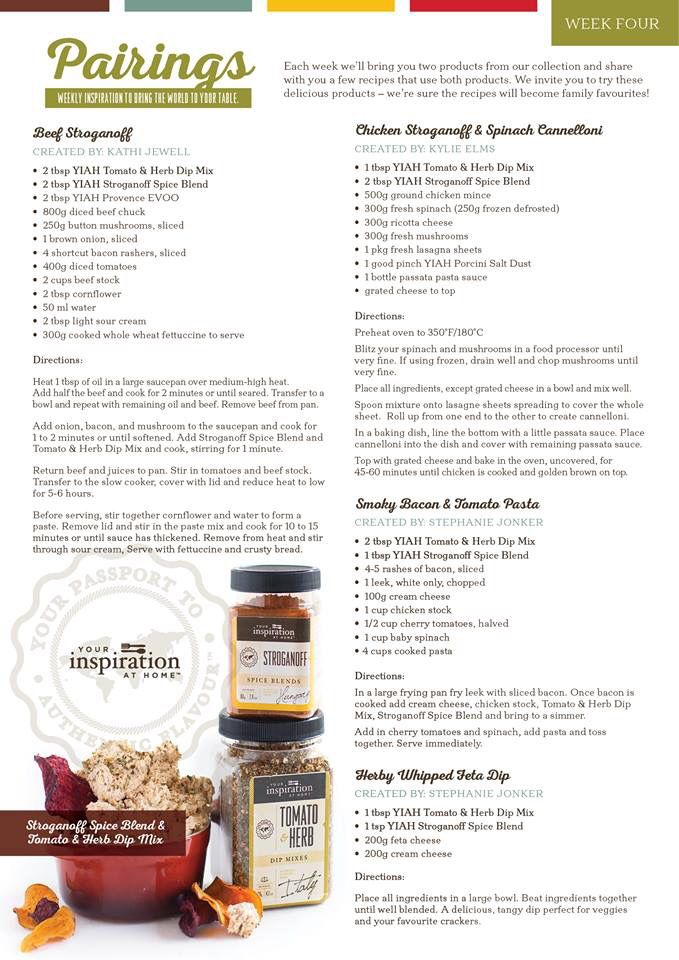 herb blend recipes