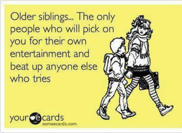 Yep! I love my siblings ♥