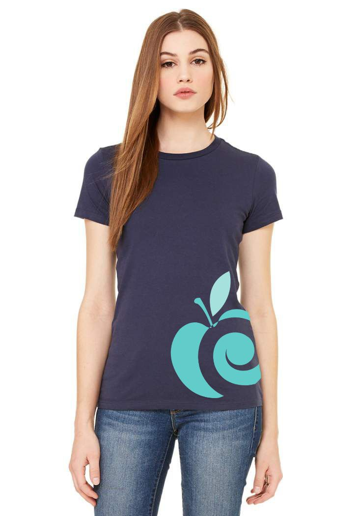 AppleCheeks ladies' shirt - Riptide inspired $24