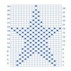 Muster des Monats – Stern stricken