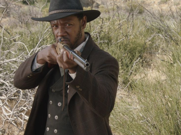 """Tory Kittles as Bass Reeves in """"Lawman"""""""