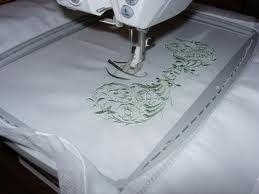 Embroidery available on any item - Linen, towels, clothing, caps and more.