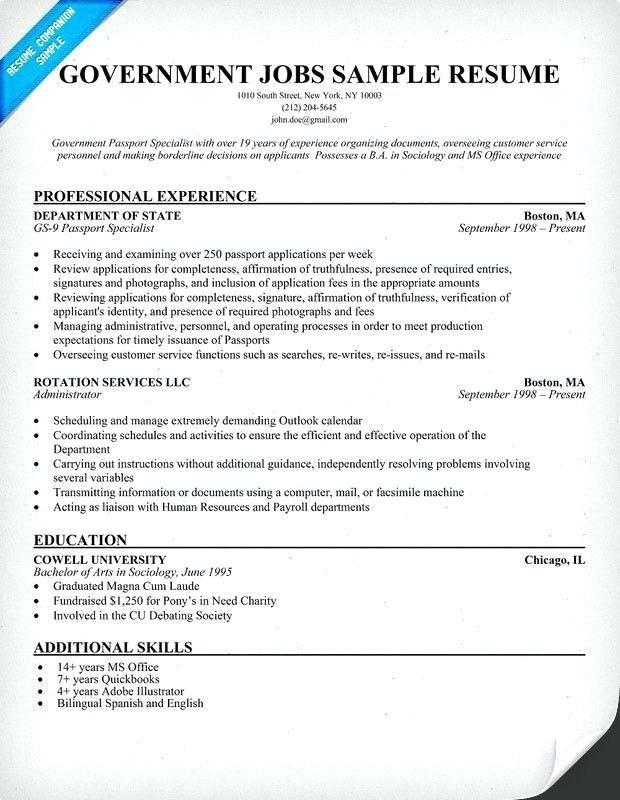 Queensland 4-Resume Examples Job resume template, Cv resume