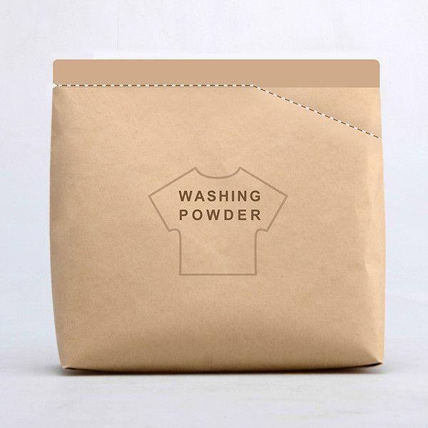 La Washing Powder Bag tiene una cuchara ideal para que el jabón en polvo que saques del envase, no se te desparrame por todos lados!!