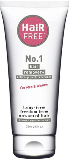 HairFree permanently stops the growth of unwanted hair. Kills the root and stops hair growth. Hair removal for men and women has never been easier.