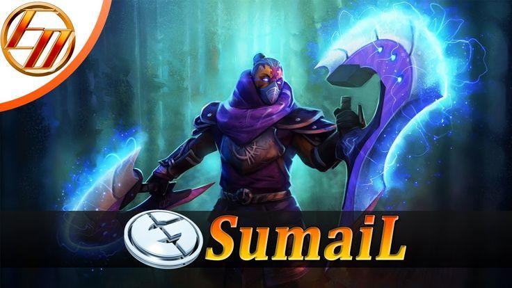 EG.SumaiL  Anti Mage  Dota 2 Pro Gameplay | Evil Geniuses