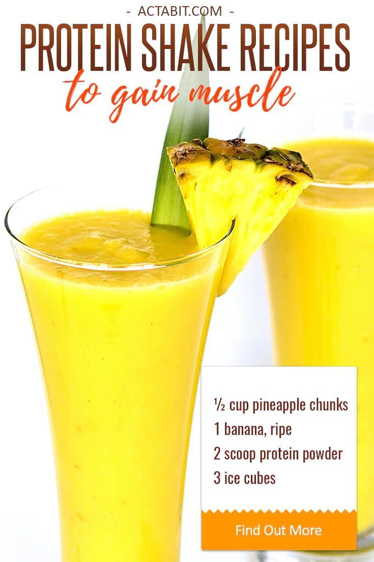 Healthy Protein Shake Recipes To Gain Muscle Drink Me Protein