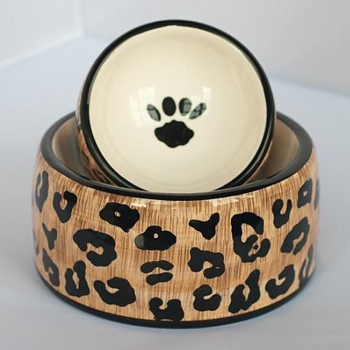 Multicolored Dog Bowl - Medium (8 dia.) traditional pet accessories