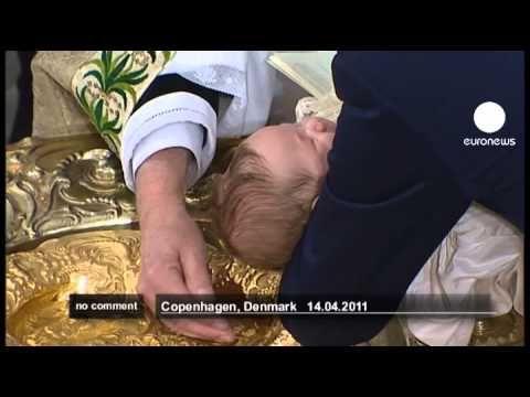 Danish royal twins christened in Copenhagen