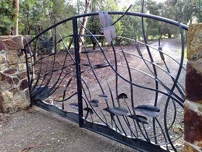 Decorative Metal Gates Are An Introduction To The Character Of Your Home