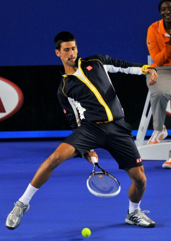 Novak Djokovic la Kid's Day la Australian Open