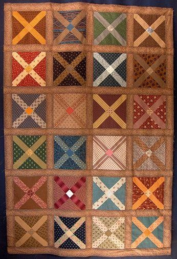 Reproduction Civil War Soldier's Cot Quilt that was raffled off during the Civil War Encampment last year. in My Photos by