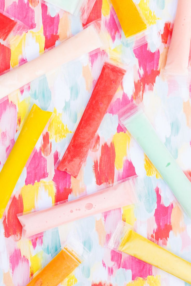 Boozy Coconut Fla-vor-ice Freeze Pops Recipe
