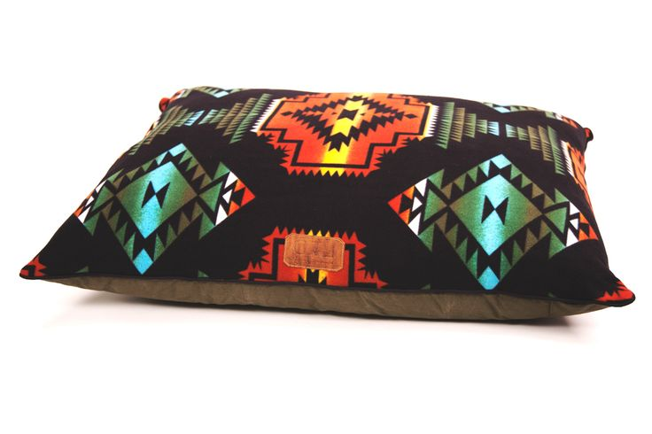 Gitli Goods - The Camp Bed (Black), $195.00 (http://www.gitligoods.com/southwestern-canvas-dog-bed/)
