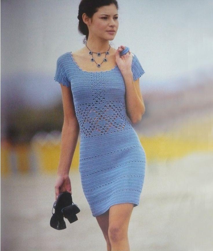 Crochet+dress+pattern+crochet+cocktail+dress+by+FavoritePATTERNs,+$8.00