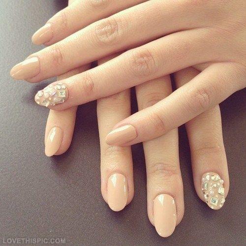 Nail Stones nails beautiful cool pretty stones nail art