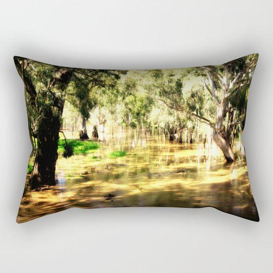 Flooded Plains Rectangular Pillow