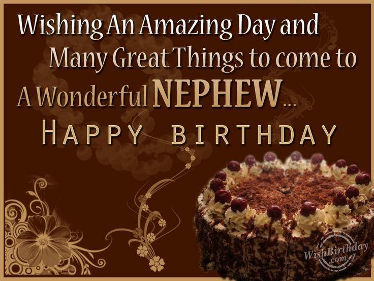 Pin By Hanna Kropkowska On Happy Birthday: Birthday Wishes For Nephew