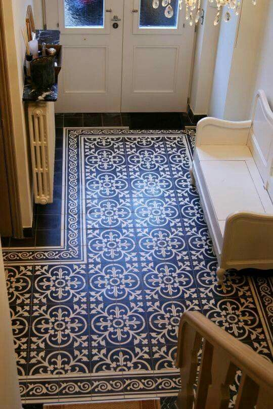 pretty floor in this entry