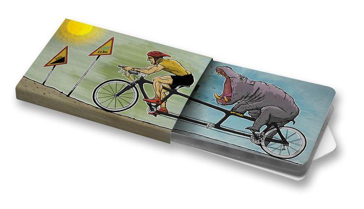 Cyklistický tandem - Štěpán Stránský #charitygums #zvejky #zvykacky #vegan #aspartamfree #sugarfree #spring #animals #bycycle #cykling  #bike #hippo