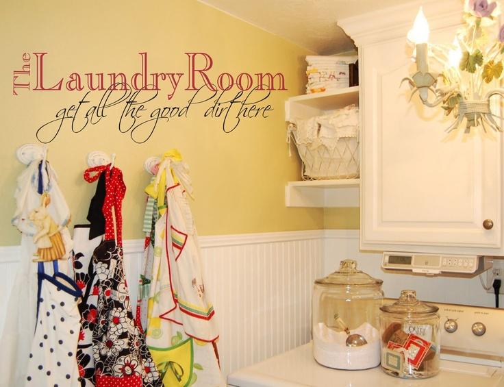 Hasil gambar untuk Laundry Space Wall Decor